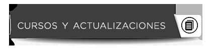 BOTÓN WEB CURSOS Y ACTUALIZACIONES