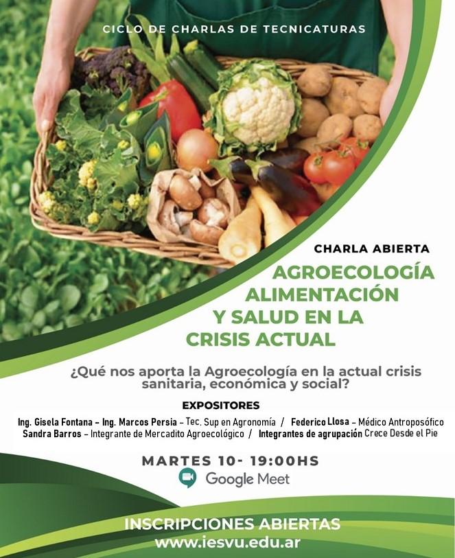 Charla agroecología
