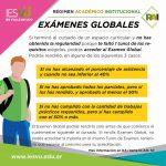 EXAMENES GLOBALES